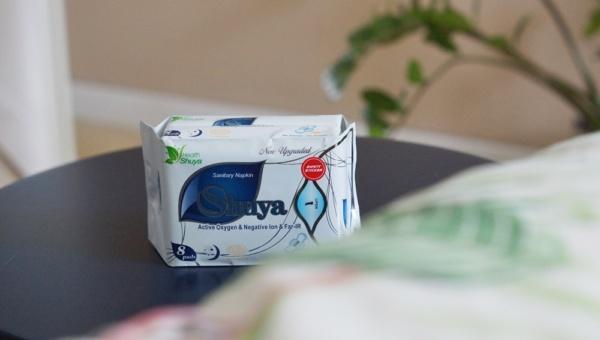 Zdrowe podpaski nocne Shuya Health 8 sztuk