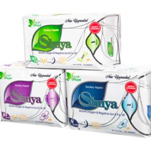 Zestaw artykułów Shuya Health na miesiąc